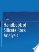 A Handbook of Silicate Rock Analysis Book
