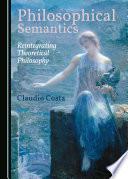 Read Online Philosophical Semantics For Free