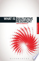 What is Qualitative Research  Book