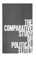 The Comparative Study of Political Elites