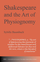 Pdf Shakespeare and the Art of Physiognomy Telecharger