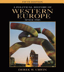 A Political History of Western Europe Since 1945