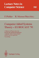 Computer Aided Systems Theory   EUROCAST  91