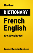 Pdf The Great Dictionary French - English Telecharger