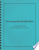 Environmental Health Risks Book PDF