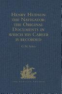 Pdf Henry Hudson the Navigator Telecharger