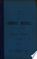 The Cambrian Journal Book