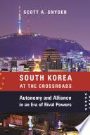 South Korea at the Crossroads Book