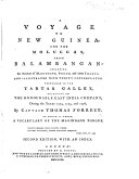 A Voyage to New Guinea, and the Moluccas ... [With a Portrait.]