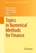 Pdf Topics in Numerical Methods for Finance