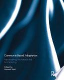 Community based adaptation