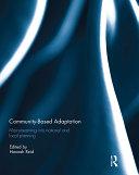 Community-based adaptation