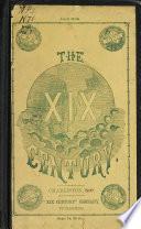 The XIX Century