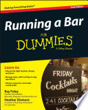 """Running a Bar For Dummies"" by Ray Foley, Heather Dismore"