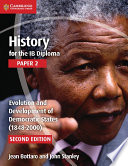 Books - History For The Ib Diploma: Paper 2: Evolution And Development Of Democratic States | ISBN 9781107556355