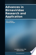 Advances in Birnaviridae Research and Application: 2011 Edition