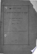 Annuario del R. Istituto botanico di Roma