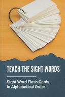 Teach The Sight Words Book PDF