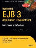 Beginning EJB 3 Application Development