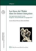 Les lieux de l'Enfer dans les lettres françaises ebook