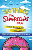 100 Things The Simpsons Fans Should Know & Do Before They Die Pdf