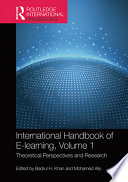 International Handbook of E Learning Volume 1 Book