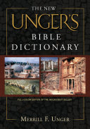 The New Unger's Bible Dictionary Pdf/ePub eBook