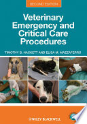 Veterinary Emergency And Critical Care Procedures Book PDF