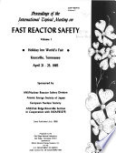 Proceedings of the International Topical Meeting on Fast Reactor Safety Book