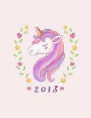 Unicorn 2018 Weekly Planner