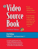 The Video Source Book  Video program listings S T