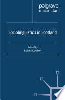 Sociolinguistics in Scotland