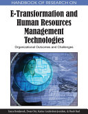 Pdf Handbook of Research on E-Transformation and Human Resources Management Technologies: Organizational Outcomes and Challenges Telecharger