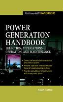 Power Generation Handbook   Selection  Applications  Operation  Maintenance