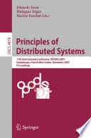 Read Online Principles of Distributed Systems For Free