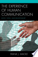 The Experience Of Human Communication PDF