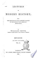 Lectures on Modern History by William Smyth Book
