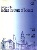 Journal of the Indian Institute of Science
