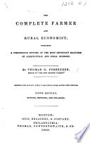 The Complete Farmer And Rural Economist Fifth Edition Revised Improved And Enlarged Book