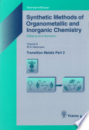 Synthetic Methods Of Organometallic And Inorganic Chemistry Volume 8 1997 Book PDF