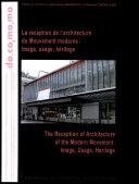 La réception de l'architecture du mouvement moderne