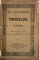 Mrs  Halliburton s Troubles