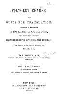 Pdf Polyglot Reader, and Guide for Translation: Spanish translation