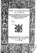 The Pilgrimage of Princes  B L  Book