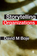Pdf Storytelling Organizations Telecharger