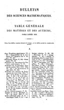 Bulletin general et universel des annonces et des nouvelles scientifiques, publie sous la direction du baron de Ferussac