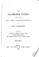 Unpublished letters of Edmund Burke  and the correspondence of Mrs  Richard Trench and Rev  George Crabbe