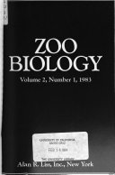 Zoo Biology Book