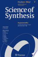 Science of Synthesis  Houben Weyl Methods of Molecular Transformations Vol  7
