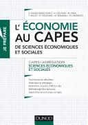 Pdf L'économie au CAPES de SES Telecharger